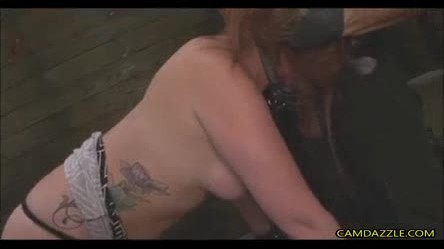 Tied Up Chick Gagged And Fucked Extreme In BDSM Show