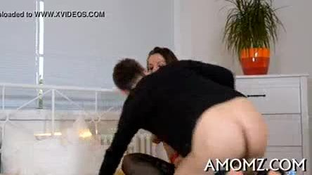 Sultry mom fucked by a hot boy