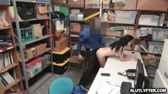 LP Officer plowing Monica Sage twat on top