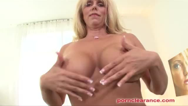 MILF With Huge Tits Swallows Big Cock And Cumshot
