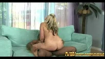 Blonde milf try a big black cock and interracial sex fun