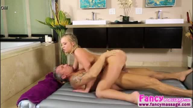 Gorgeous Masseuse Bailey Brooke gets fucked by her former boss