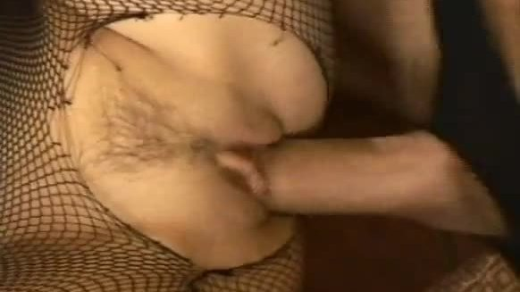 Well dressed slut foot job and pussy fucking
